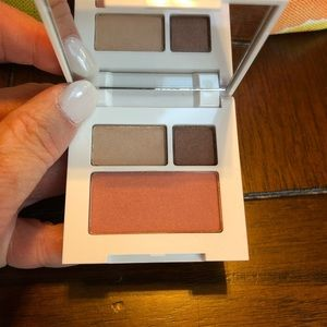 Clinique. Never used. Blush and eye shadow.